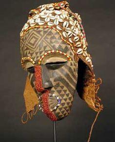 Kuba Ngaady a Mwaash Mask,    Africa     Origin: Democratic Republic of Congo Circa: 20 th Century AD
