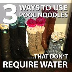 3 Ways to Repurpose Pool Noodles