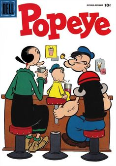 Cover for Popeye (1948 series) #34