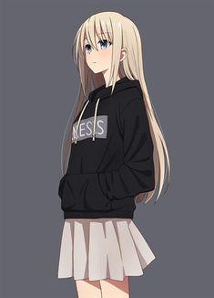 süßes Anime Mädchen Anime Mädchen kawaii otaku #anime #animegirl #otaku #kawaii  #anime #...