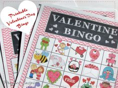 Game Boards One Sheet Of Game Pieces And A Sheet Of Calling Cards. 1600 x 1200.Valentine Bingo Printable Game Cards