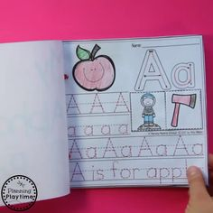 Alphabet Activities for Preschool Fun Alphabet Activities for Preschool – Printables for all 26 letters of the alphabet. Letter Tracing, beginning sounds and more. Preschool Learning Activities, Preschool Printables, Toddler Activities, Preschool Activities, Teaching Kids, Preschool Lessons, Teaching Spanish, Alphabet Crafts, Alphabet Books