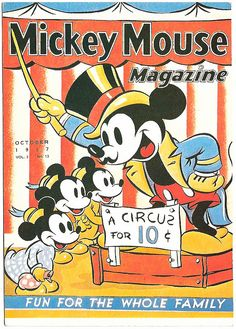*MICKEY MOUSE ~ magazine