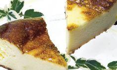 Tarta de queso con quesitos.  Siempre me sobran y ahora los puede usar fácilmente.