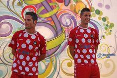 Las camisetas más feas del fútbol - Segunda equipación del Recreat...   Fútbol   EL MUNDO World, Seasons, T Shirts, Sports