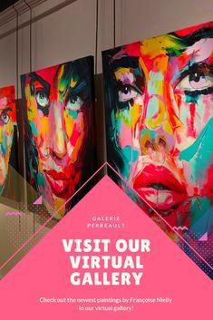 #Art #Artist #Artwork #Portrait #Painting #FrancoiseNielly #ArtGallery #Quebec #Canada Le Petit Champlain, Old Quebec, Andy Warhol, Art Gallery, Childhood, Canada, The Incredibles, Portrait, Artist