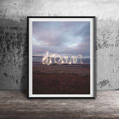 D R E A M  Colour Photography Print by LavenderLinePhotos on Etsy