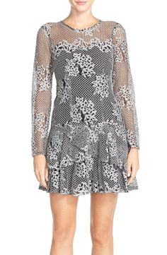 KUT from the Kloth Lace Drop Waist Dress