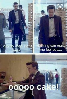 Doctor Who (: the doctor is me; I am the doctor; we are 1 The Doctor, Eleventh Doctor, Doctor Cake, Watch Doctor, Tardis, Time Lords, Space Man, Image Triste, Doctor Who Funny