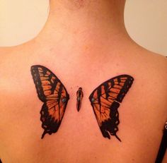 half betrayed: butterflies with punctured wings paramore tattoo ...