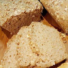 Pão Integral de 3 Farinhas   Máquina de Pão