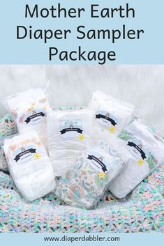Mother Earth Diaper Sampler Package - Try a variety of eco-friendly brands of diapers - Diaper Dabbler Size 1 Diapers, Earth's Best, Mentally Strong, Language Development, Baby Registry, Mother Earth, New Moms, Baby Gifts, New Baby Products