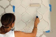 Decora con Stencil   El Blog de Viviana González De Marco