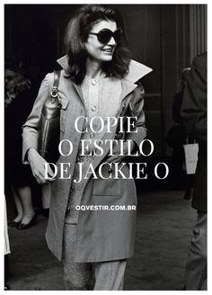 Clique e confira nossa seleção de peças inspiradas na primeira-dama mais estilosa de todos os tempos!