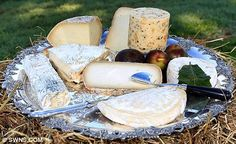 The most expensive cheese plate ever ($1363.50)!