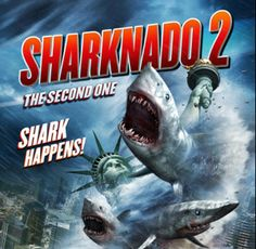 Tara Reid and Ian Ziering return for a second helping in Sharknado 2: The Second One