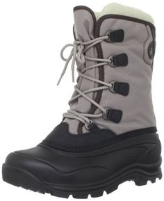 """Kamik Women's Celebrate Snow Boot Kamik. $59.98. synthetic. Rubber sole. Heel measures approximately 1.5"""". Shaft measures approximately 9.5"""" from arch"""
