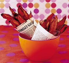 another type of sweet potato chips