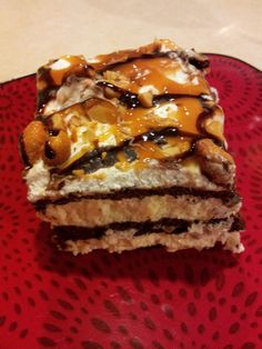 Do you need a super easy yet very decadent and delicious dessert to make for your family or for a potluck??  Try this recipe!  Its Snickers ...