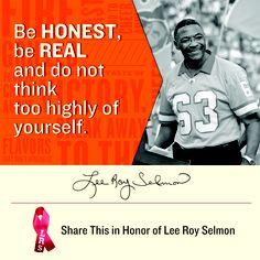 Pin this in Honor of Lee Roy Selmon