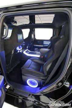 Back seat ideas