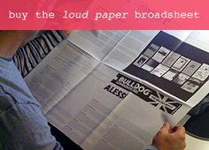 Buy the loud paper b