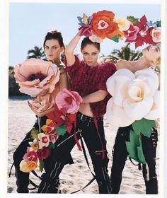 In the Mood for Spring's Return - Bruce Weber W Magazine