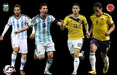 Live – Argentina vs Colombia