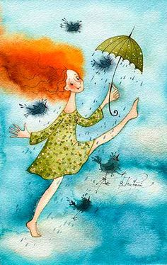 VICTORIA KIRDIY - Russian Artists, Illustrator Капля (Виктория Кирдий)