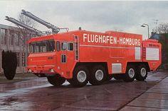 Faun Airport Crash Truck