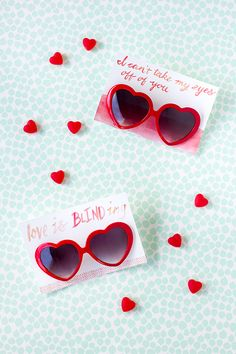 heart sunglasses valentine printable / studio diy