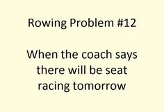 Rowing Problems