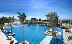 Hôtel The St Regis Resort ( Île Maurice ) - Piscine Mauritius Resorts, Mauritius Island, Piscina Do Hotel, Leading Hotels, Hotel Pool, Glamour, Beautiful Hotels, Cool Pools, Dreams
