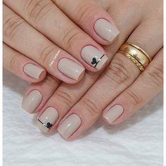 Aprenda a fazer Unhas lindas no Curso de Manicure e Pedicure com a Rainha da Cutícula, Faby… Shellac Nails, Acrylic Nails, Nail Polish, Square Nail Designs, Nail Art Designs, Perfect Nails, Gorgeous Nails, Glam Nails, Cute Nails