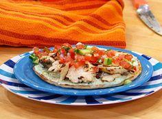Greek Chicken Wrap (Rachel Ray Show)  http://www.rachaelrayshow.com/food/recipes/greek-chicken-feta-tzatziki/  (for how to make, not just picture)