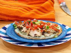 Greek Chicken Wrap (Rachel Ray Show)  http://www.rachaelrayshow.com/food/recipes/greek-chicken-feta-tzatziki/  (for how to make, not just picture)