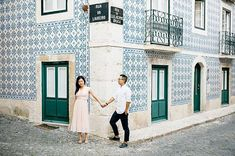 We'll be in Ericeira and Lisbon next week. DM us if you want to meet 💙 We can't wait to go back to this beautiful streets. Elope Wedding, Destination Wedding, Wedding Planning, Visit Portugal, Beautiful Streets, Next Week, Engagement Shoots, Waiting, To Go