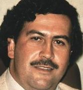Pablo Escobar...cartel face....
