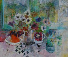 Still_life_untitled Be Still, Still Life, Passion Flower, Flowers, Painting, Art, Art Background, Painting Art, Kunst