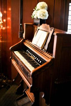 This looks a lot like my family pump organ.  My great grandparents took the ornate top off of it to pack it around the San Juan Islands in skiff for dances, funeral, etc.