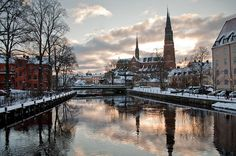 Uppsala, Sweden (I want to go back someday. Places Around The World, Oh The Places You'll Go, Places To Travel, Around The Worlds, Wonderful Places, Beautiful Places, Sweden Places To Visit, Foto Art, My New Room