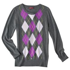Merona® Women's Argyle Pullover Sweater - Assorted Colors