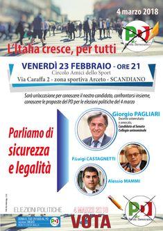 Partito Democratico Reggio Emilia - Sicurezza e legalità a Scandiano