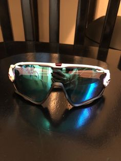 ec0f637f6a Oakley Jawbreaker Polished White w  Prizm Road Polarized Lens Sunglasses   fashion  clothing