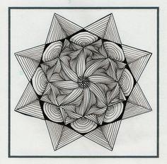 Zendala Dare #13 shell lines, via Flickr.