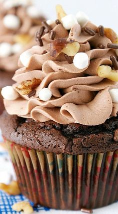 Rocky Road Cupcakes Recipe | Living Better Together