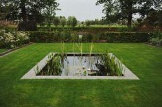 Tuinontwerp Hollandse tuin | TuinTuin Garden Landscaping, Holland, Golf Courses, Patio, Landscape, Terraces, Balconies, Porches, Gardens