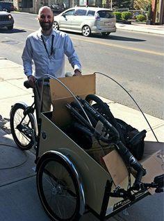 Another happy cargobike customer!