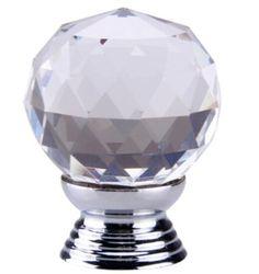 Goedkope K9 clear crystal knop chrome glitter knop keukenkast knoppen handgrepen dressoir kast deurgrepen woondecoratie hardware, koop Kwaliteit handgrepen en knoppen rechtstreeks van Leveranciers van China: Beschrijving:Hoeveelheid: 10pcStijl: moderneKleur:duidelijkeMateriaal: k9 kristal knopHart op hart:/Over alle lengte:/Di