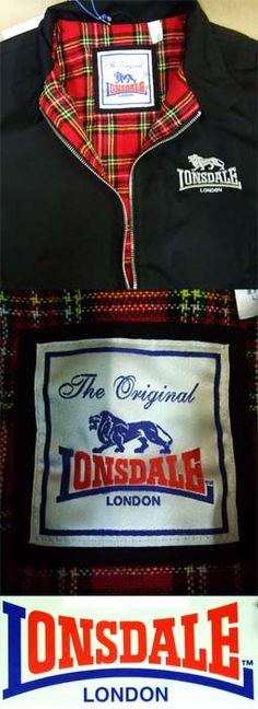 Ref. Lonsdale 356 - Harrington jacket Pedidos (Worlwide Orders): www.barrio-obrero.com